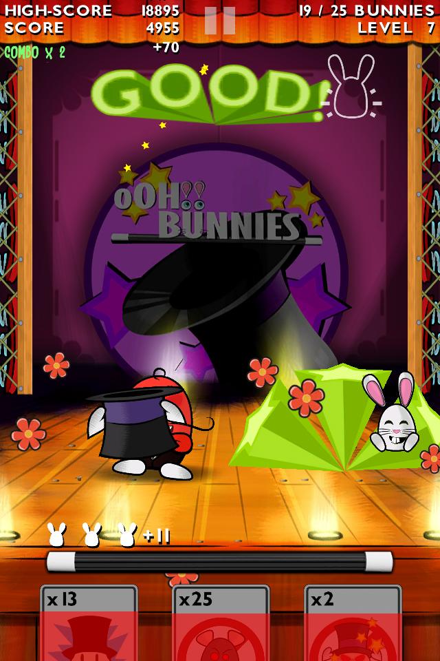 Screenshot oOH!Bunnies
