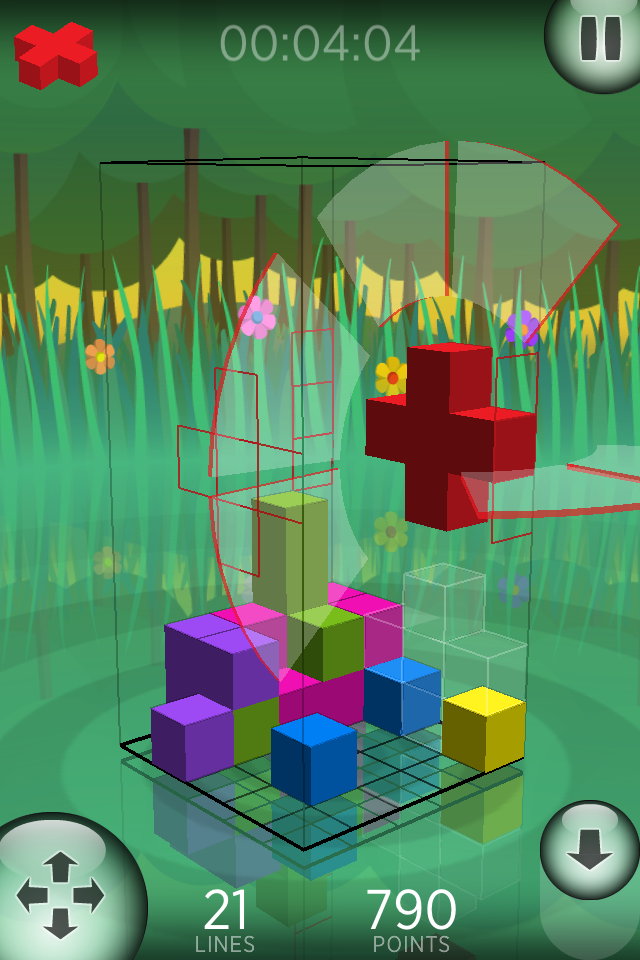 Screenshot Fragmental 3D